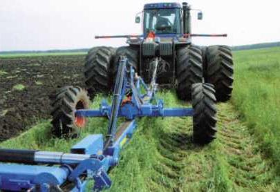 Тележка для тракторов без трехточечной навески