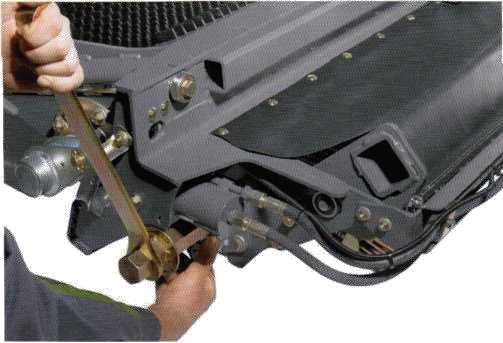 устройство для переключения групп ножей