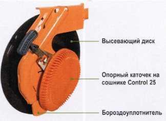 Вид высевающего диска
