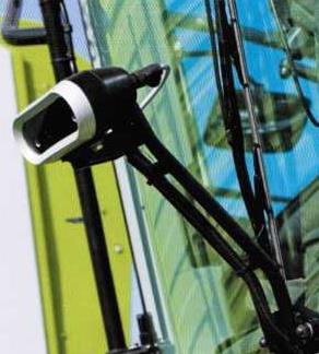 Видеокамера системы управления по валку