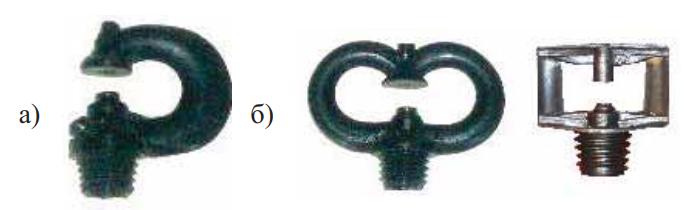 Виды микродождевателей Р-образной и Ф-образной формы