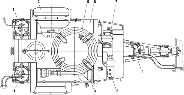 агрегат для ухода за гидротехническими сооружениями АУГ-3
