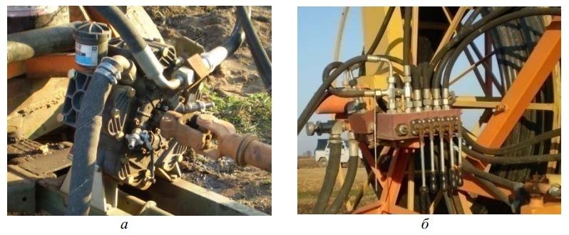 Агрегаты установки для промывки дренажа УПД-120