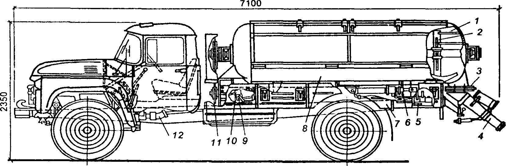 Авторастворовоз СБ-89В