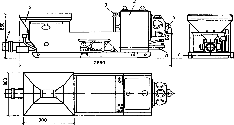 Бетононасос СБ-161