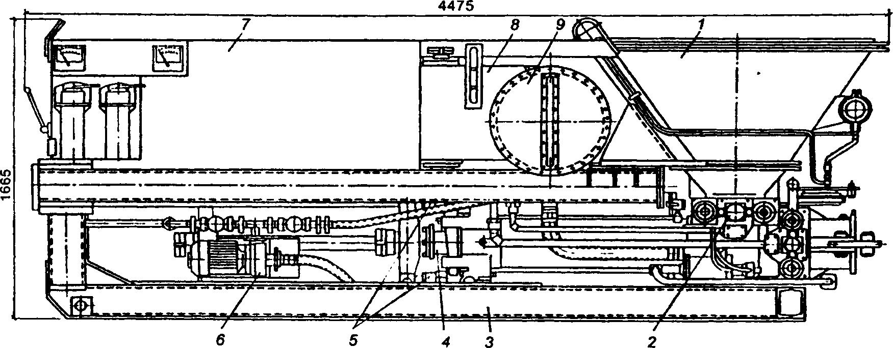 Бетононасос СБ-85