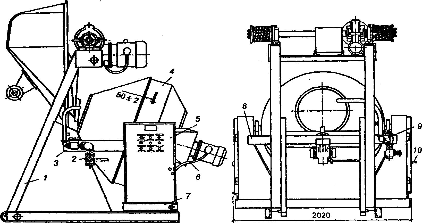 Бетоносмеситель СБ-16Г