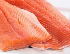 Цвет мяса свежей рыбы