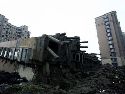 Деформации оснований зданий, расположенных на склоне