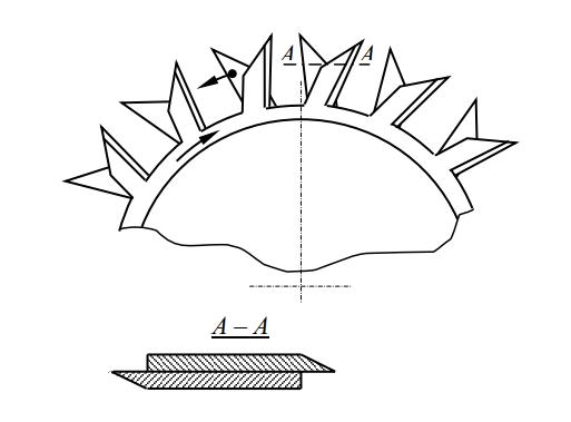 двухроторная косилка с наложенными роторами