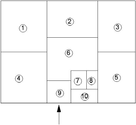 Эскиз-задание с экспликацией помещений