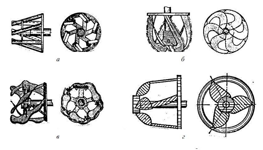 Фрезы наиболее типичных конструкций