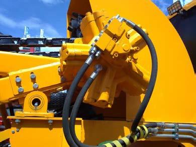 Гидромотор радиально-поршневой IAM 2500 H55 Italgroup привода ковшовой цепи