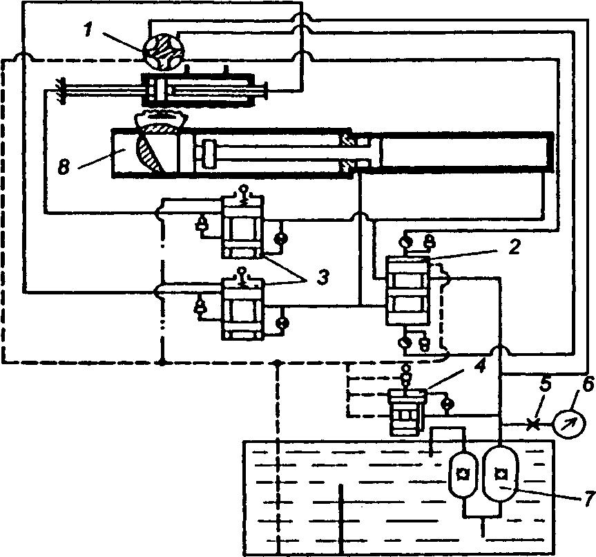 Гидропривод бетононасоса СБ-161