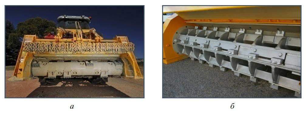 Измельчающие роторы камнеуборочных машин фирмы Kirpy