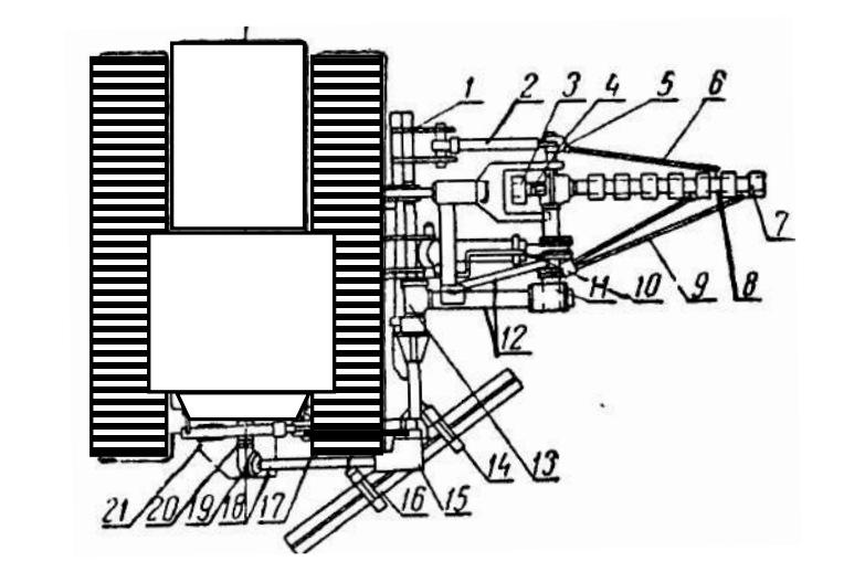 Каналоочиститель со скребковым рабочим органом