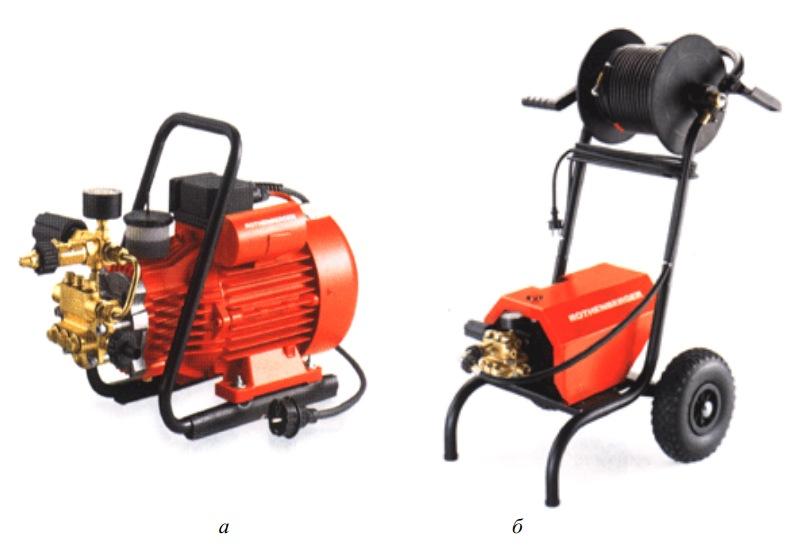 Компактные самовсасывающие агрегаты для чистки труб - HD 11/90 и HD 17/190