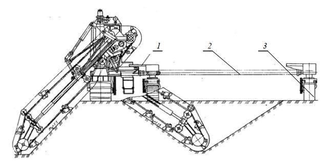 Конструкция ходовой части каналоочистителя МР-15