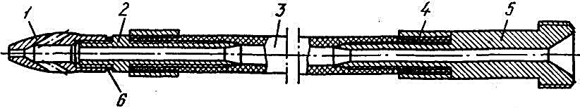 Конструкция шланга с головкой