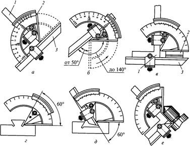 Контроль углов призматических деталей и конусов