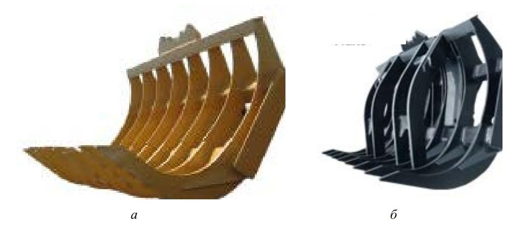 Корчующие рабочие органы с зубьями специальной формы