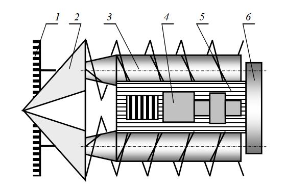 Косилка КП-2,0 на шнековых понтонах