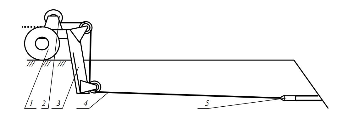 Кротодренажный рабочий орган с разделенной схемой работы