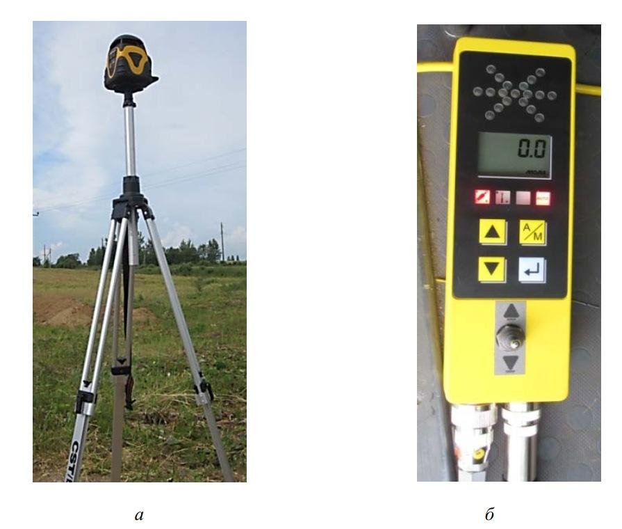 Лазерный излучатель и пульт управления