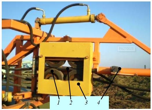 механизм для перемещения напорного шланга
