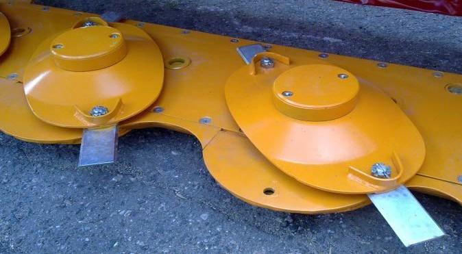 Многороторный рабочий орган с вынесенными вперед осями вращения роторов