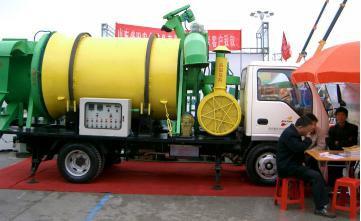 Мобильная барабанная зерносушилка ZY5T