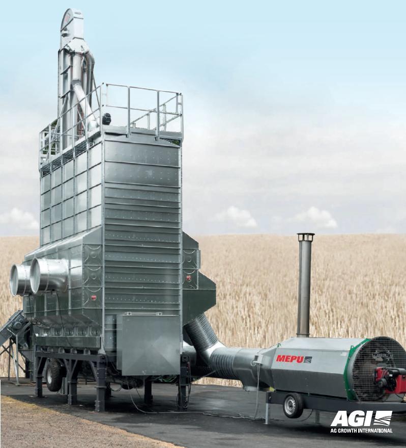 Мобильная шахтная зерносушилка М5-38