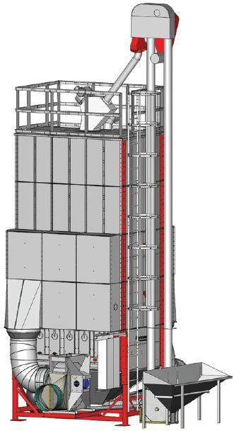 Мобильная вакуумная зерносушилка модели «C 255 Vacboost»