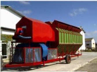 Мобильная зерносушилка «ALFA»