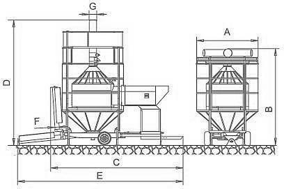 Мобильная зерносушилка модели PRT300/ME