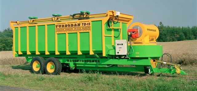 Мобильная зерносушилка TD-15 фирмы «Turbodan»