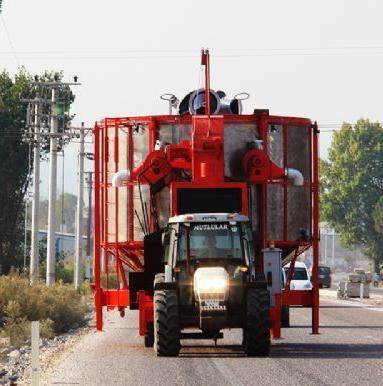 Мобильные зерносушилки ТКМ