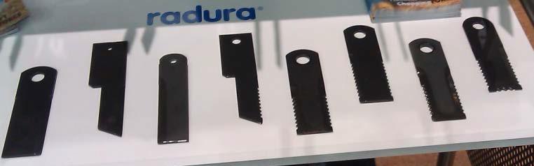Ножи роторных косилок Radura