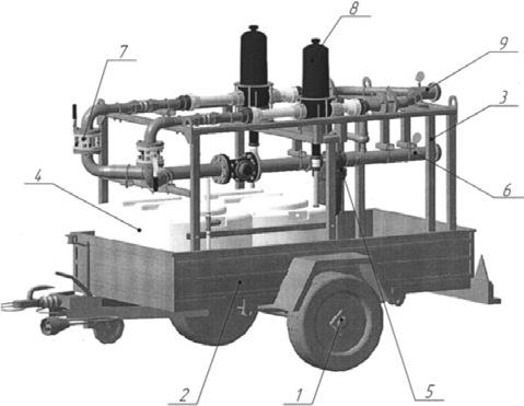Оборудование для гидроподкормки ОГД-50