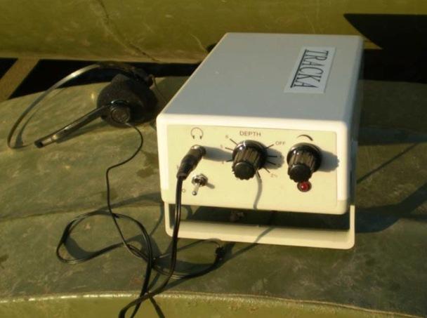 Прибор для определения положения дренопромывочной головки
