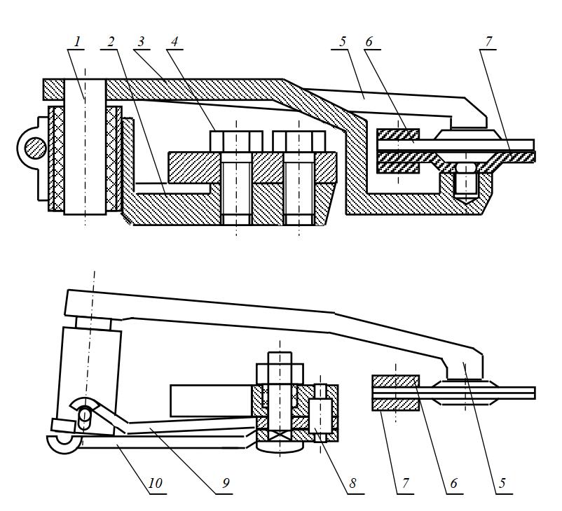 привод сегментного двухножевого режущего аппарата