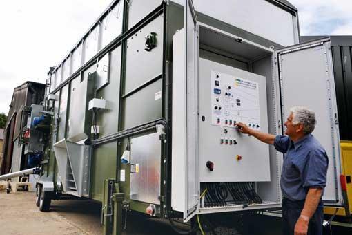 Пульт управления зерносушилкой МDF2200
