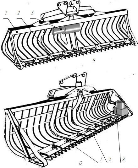 Рабочий орган ковша-косилки