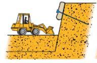 Разработка (снятие) грунта среднего пласта