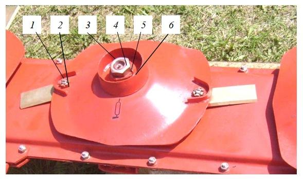 Ротор многороторной косилки