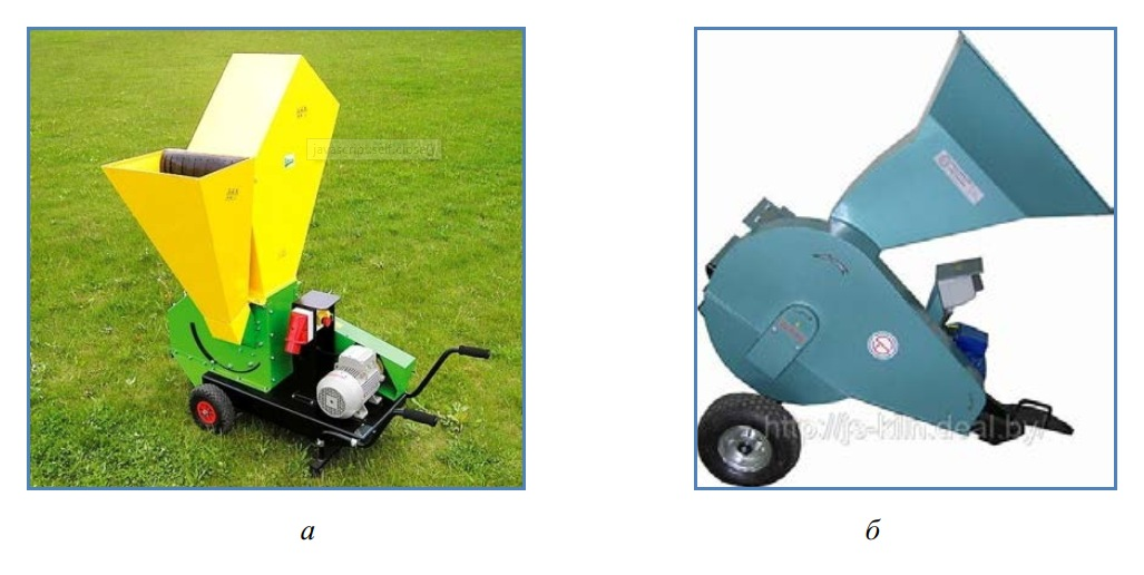 Рубильные перемещаемые машины с электроприводом