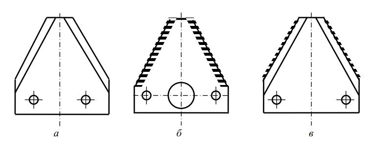 сегменты сегментно-пальцевого режущего аппарата