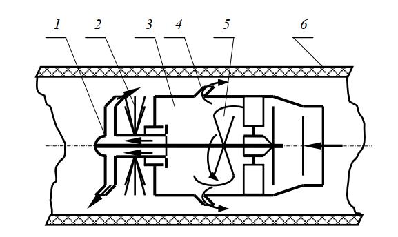 Схема гидромеханической головки