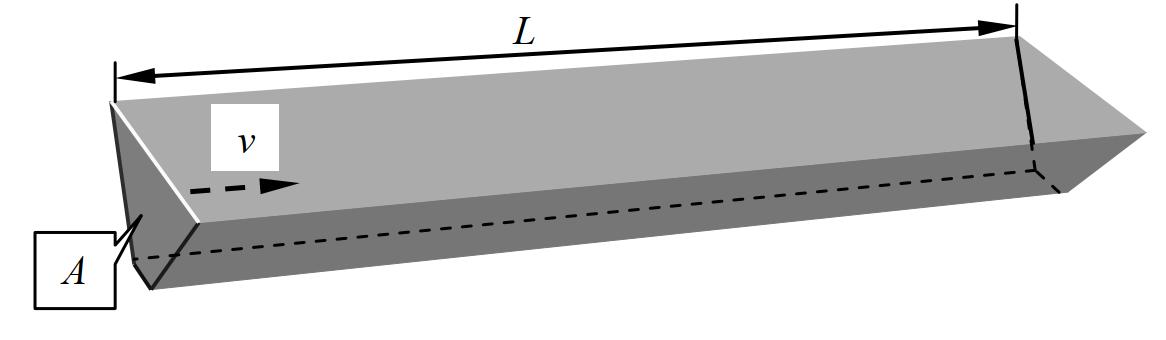 Схема к расчету объема вынутого грунта при прокладке протяженного сооружения