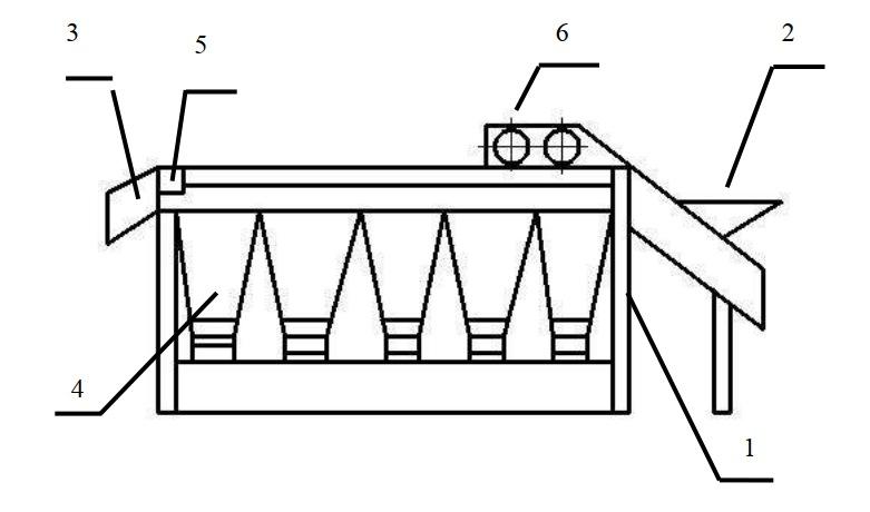 схема калибровочной машины ВК-КМР
